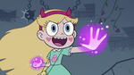 S4E1 Star Butterfly with glowing hands