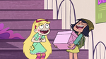 S2E27 Star Butterfly and Janna laughing