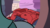 S3E8 Marco Diaz's hoodie on a pile of dirty clothes