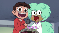 S4E16 Marco and Kelly cheering together