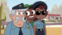 S4E29 Barb appears behind police officers
