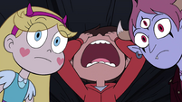 S4E30 Marco Diaz shouting in frustration