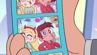 S3E34 Star and Marco's 'oops, I did it again' photo