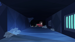 S3E6 Marco Diaz crawls through the castle vents