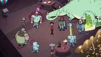 S4E18 Marco Diaz surrounded by knights