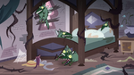 S3E11 Eclipsa's bed covered in ugly creatures