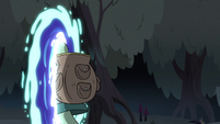 S3E31 Buff Frog leaving Mewni