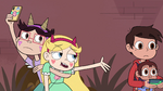 S4E26 Star Butterfly asking Marco for money