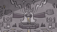 S4E31 Glossaryck depicted in hieroglyphics