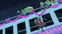 S1E10 Star fighting Ludo's monsters on the bus