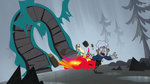 S1E6 Glitter dragon chomps the earth