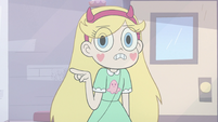 S3E11 Star Butterfly pointing at her wand
