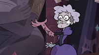 S3E24 Heinous suddenly has a monster arm