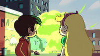 S2E14 Star and Marco watch Ludo's magic explode