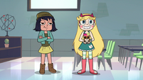 S2E16 Star Butterfly holding Marisol