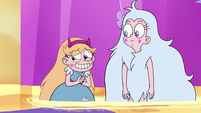 S3E37 Star Butterfly laughing nervously