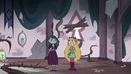 S3E11 Star and Eclipsa in the rose tower