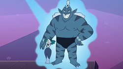 S3E29 Hologram of Eclipsa and her monster husband