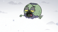 S2E2 Ludo pops out of the snow