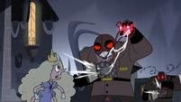 S3E33 Robot guards rip out their robot hearts