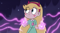 S4E9 Star Butterfly using her magic