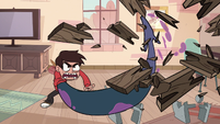 S1E5 Marco breaks ten pieces of wood