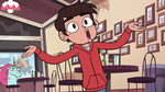 S2E24 Marco Diaz stretching out his greeting