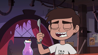 S3E22 Marco Diaz eating an ice cream sundae