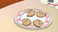 S1E16 Plate of fortune cookies