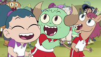 S4E16 Mewman and monster kids happily playing