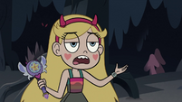 S3E27 Star Butterfly holding her magic wand