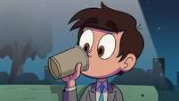 S2E27 Marco Diaz trying his milkshake