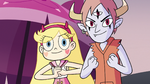 S3E19 Star Butterfly and Tom ready to fight Ulric