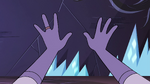 S4E4 Eclipsa's hands in Rhombulus' vision