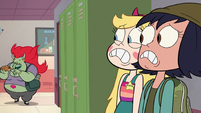 S2E16 Star and Janna hide from Miss Skullnick