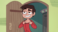 S2E25 Marco Diaz revealing his chest hair