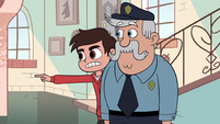 S2E36 Marco Diaz accusing Miss Heinous