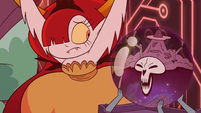 S3E29 Hekapoo and Omnitraxus look at each other