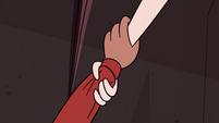 S4E2 White monkey grabs Marco's wrist