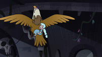 S4E34 Moon and River's eagle swoops upward