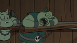 S2E20 Buff Frog sleeping
