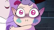 S4E1 Meteora giving a grim stare