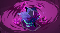 S4E4 Rhombulus stuck in a dark vortex