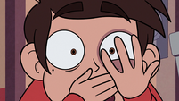 S2E26 Marco Diaz looks at his trembling hand