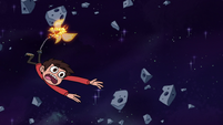 S3E18 Star drags Marco into an asteroid field