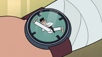 S2E37 Sensei's karate-themed wristwatch