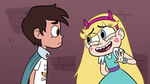 S3E8 Star Butterfly saying goodbye to Marco Diaz