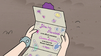 S4E24 Coronation invitation in Star's hands