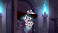 S4E35 Eclipsa and Meteora enter Meteora's room