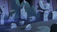 S3E9 Mewni's pet cemetery